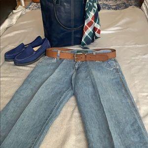 Super hot  , wide legs  , summer jeans